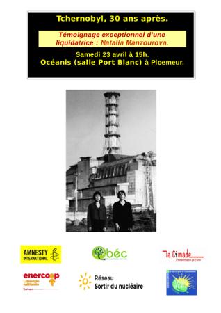 Conférence de Natalia Manzourova, liquidatrice de Tchernobyl
