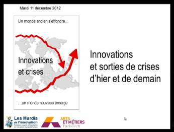 Innovation et sortie de crises