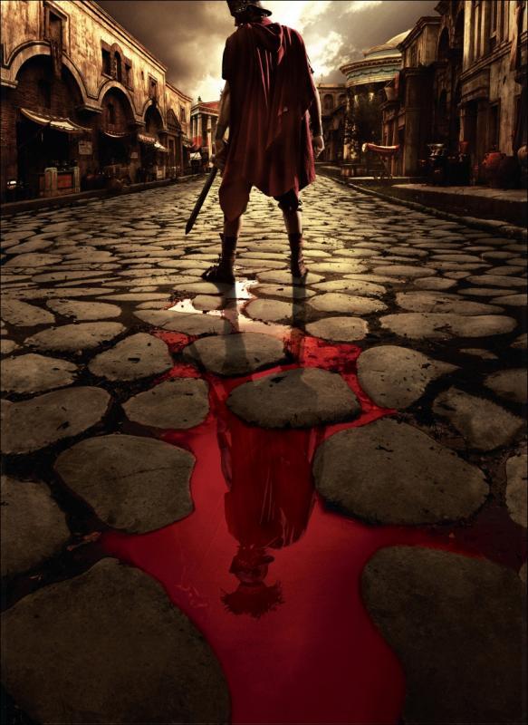 Illustration de la série Rome de HBO.