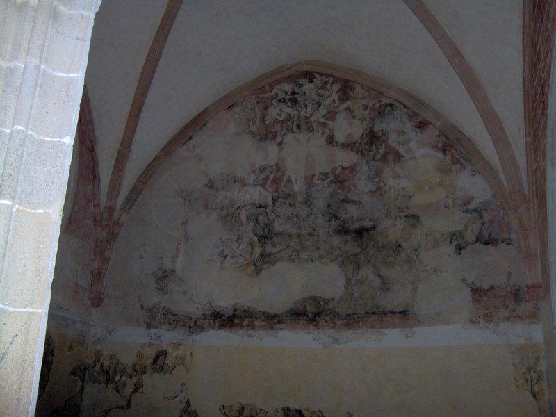 fresque danse macabre église Kernascléden