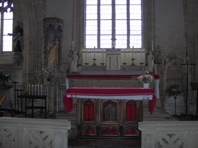 autel église Kernascléden