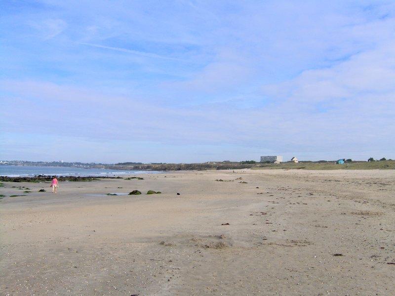 Grande plage du Fort Bloqué