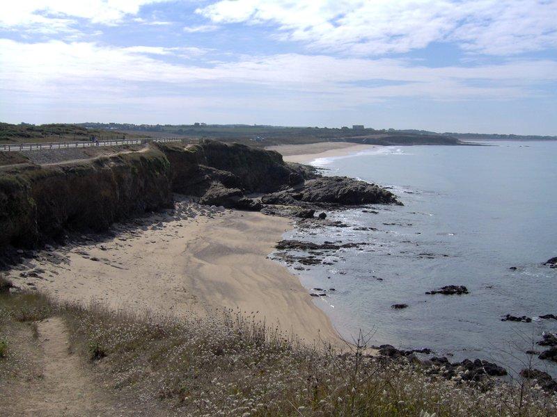 Petit plage du Fort Bloqué