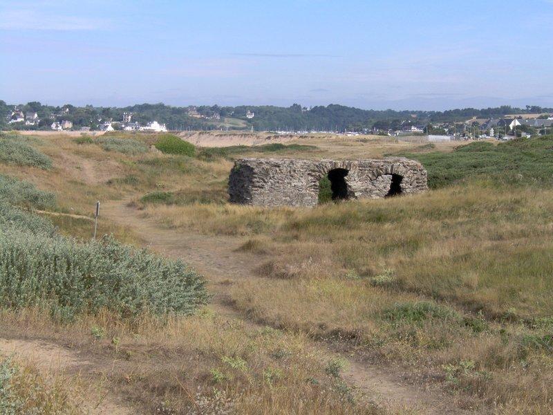 Vestige d'une redoute entre Fort Bloqué et Guidel-Plages