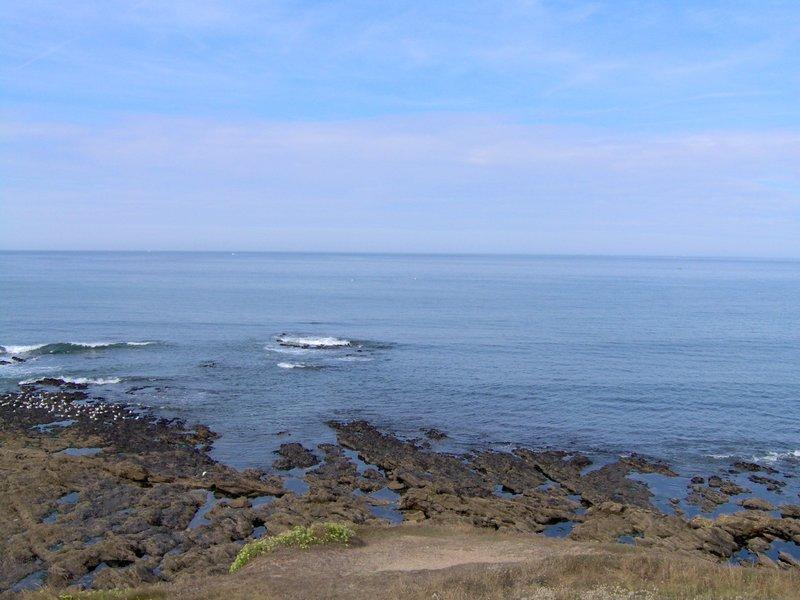 Vue sur l'océan secteur du Fort Bloqué