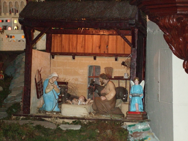 Crèche de Noël église Étel 2007