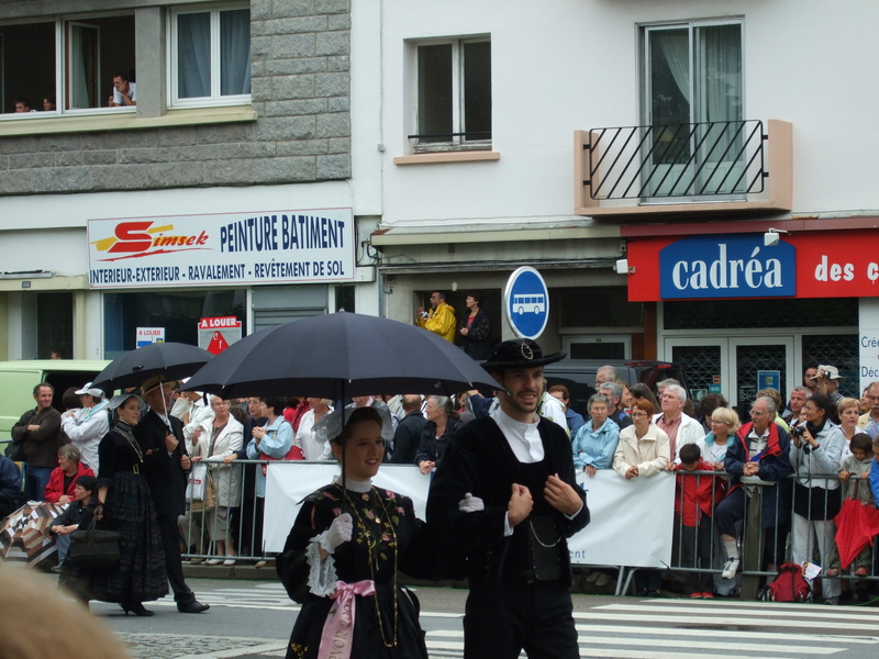 Grande Parade du festival interceltique de Lorient 2008