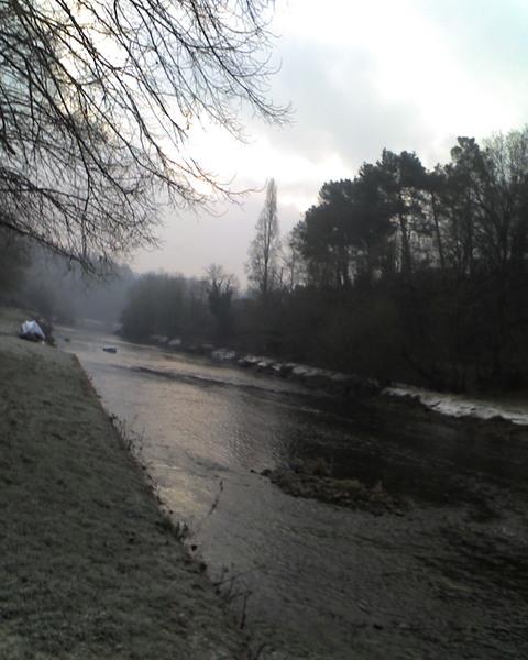 Le Scorff à Pont-Scorff ! (hiver 2009)