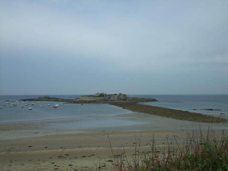 Le Fort-Bloqué vu de la plage