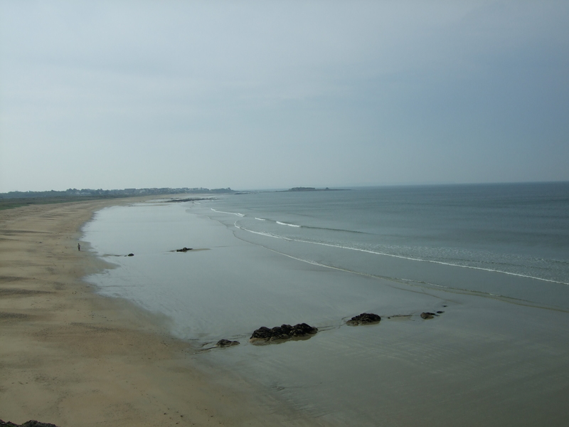 La grande plage du Fort-Bloqué (Lannenec)