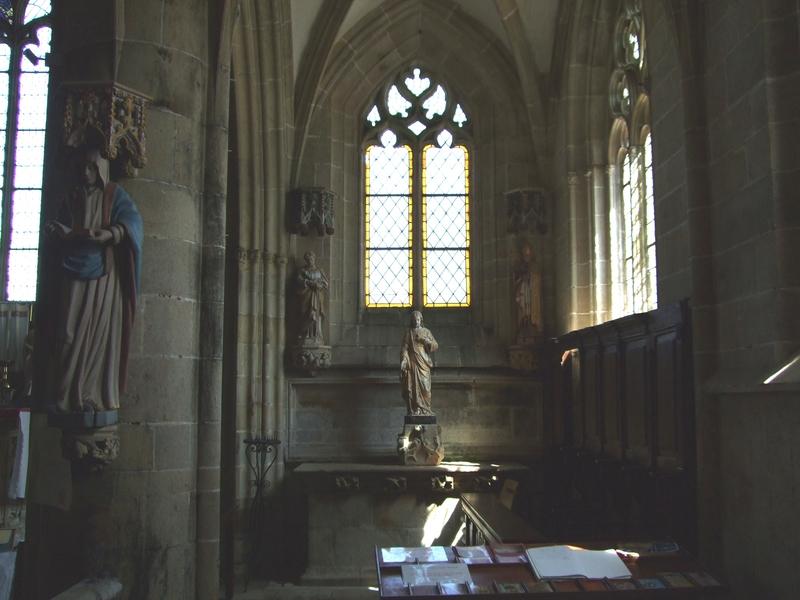 Notre-Dame de Kernascléden : vue intérieure de l'église