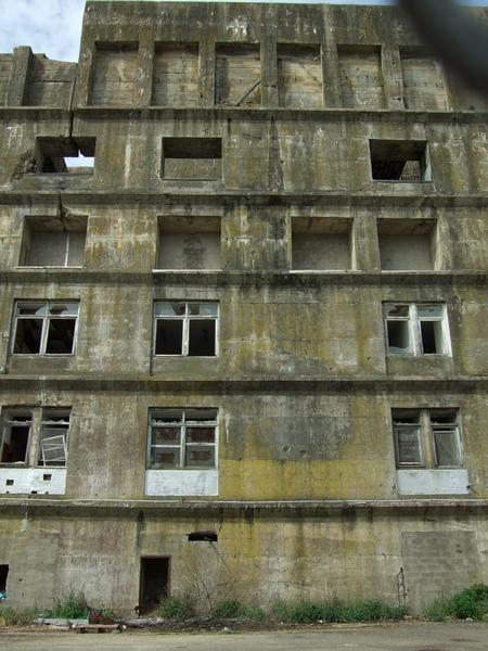 Bâtiment en ruines, Keroman, Lorient