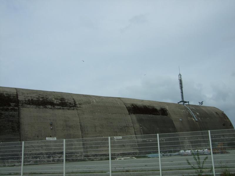 Ancienne base des sous-marins port de Keroman Lorient