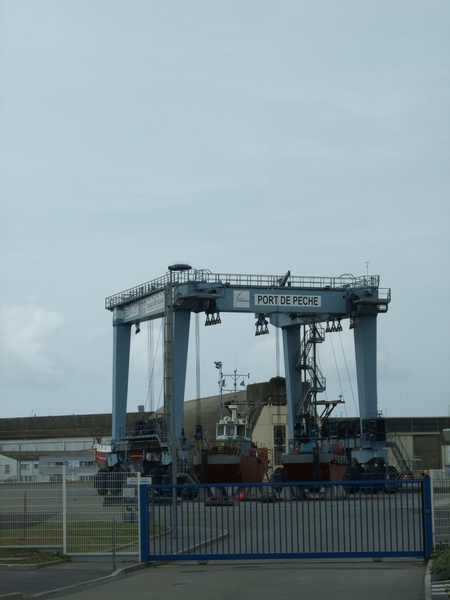 Grande grue, port de Keroman Lorient