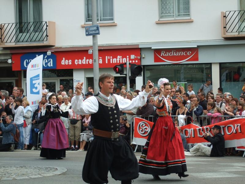 Danseurs festival interceltique 2010