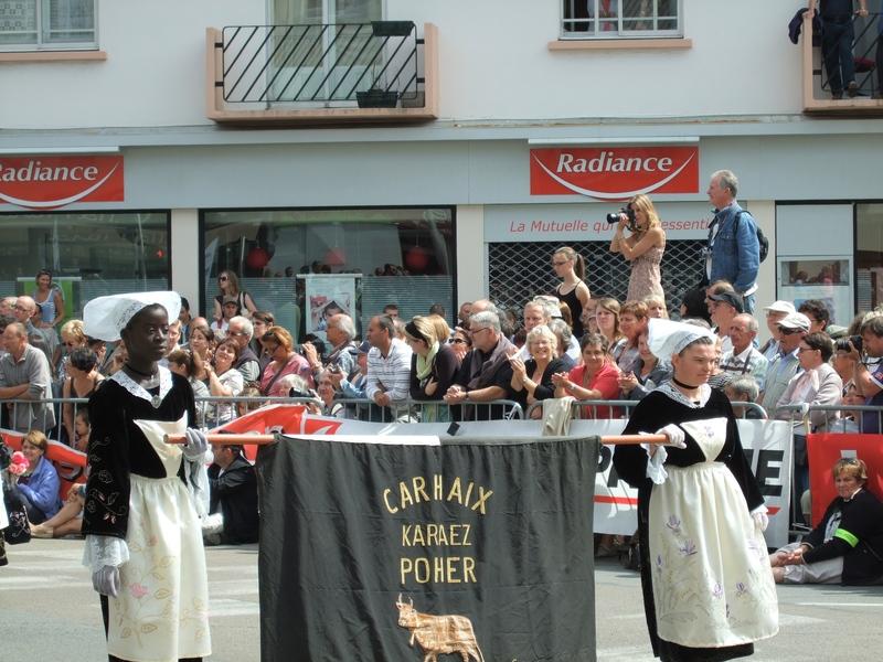 Femmes en costume celte festival interceltique 2010