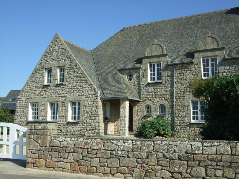 Roscoff, très belle maison en pierres!