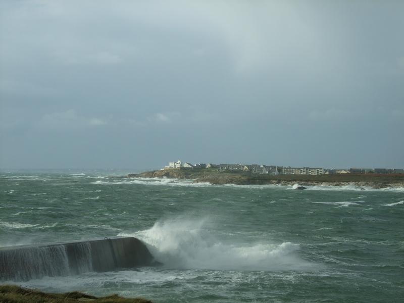 Tempête Kerroch2010: mer déchaînée!