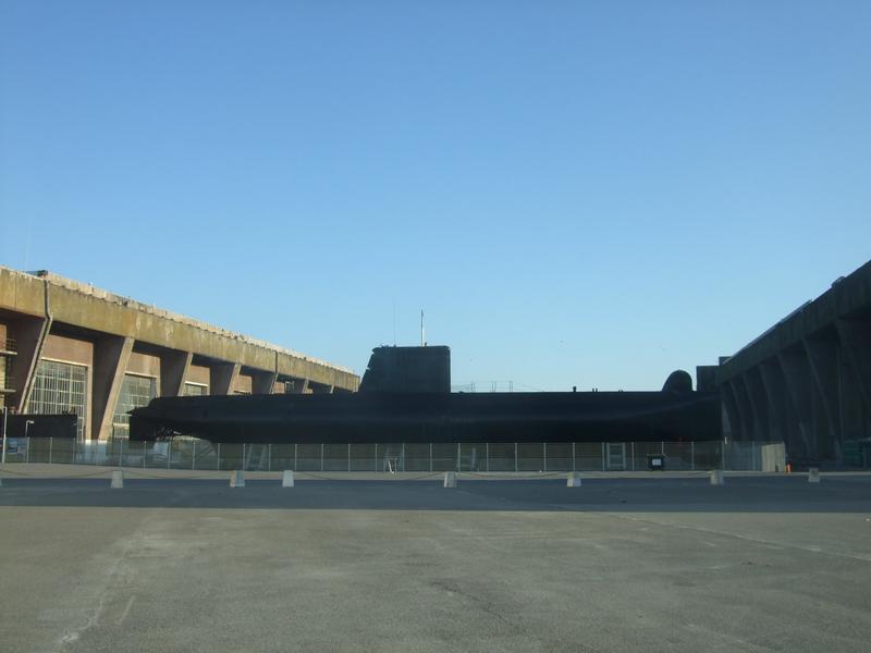 Le sous-marin Flore Lorient