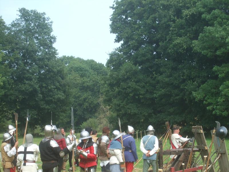 Soldats fête médiévale Malestroit 2011