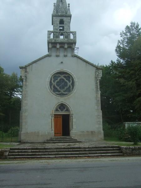 Chapelle Sainte-Anne des Bois, vue de l'extérieur