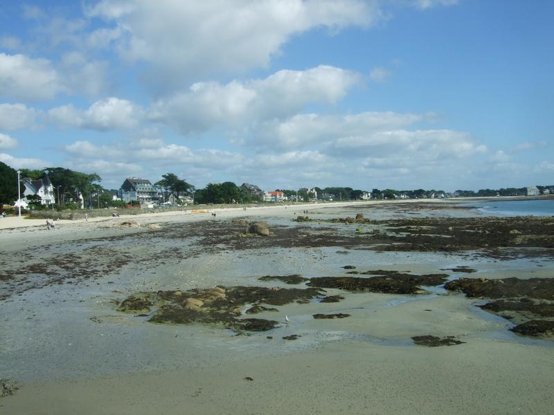 Grande plage de Carnac