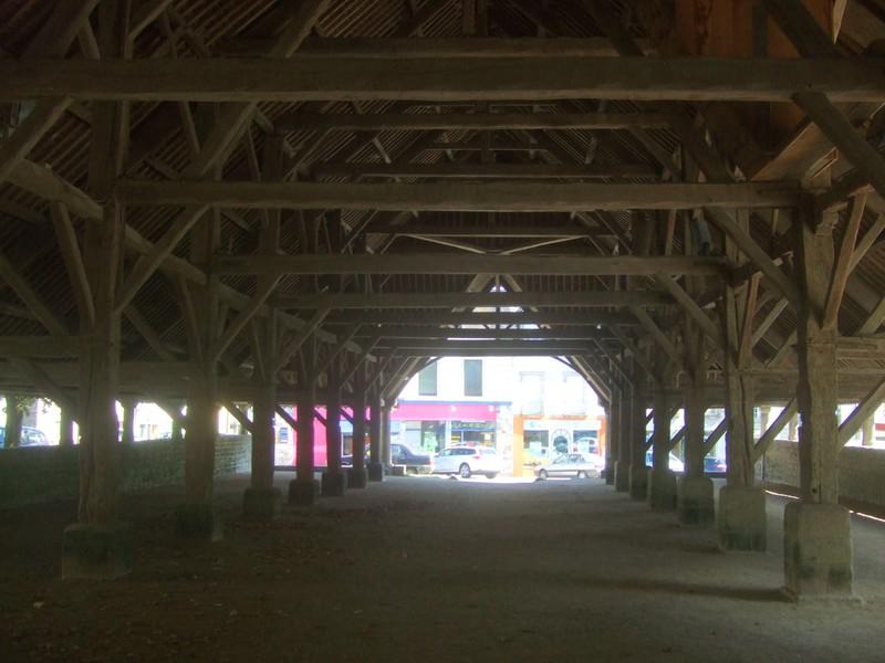 Halles du Faouët (vue intérieure)