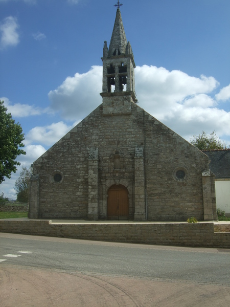 Église Saint-Guénolé (Locunolé, Finistère)