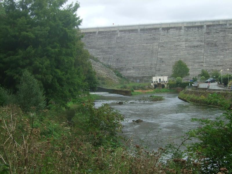 Vue du barrage de Guerlédan