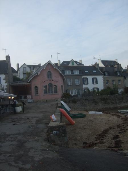 Maisons bourg de Sainte-Marine Finistère