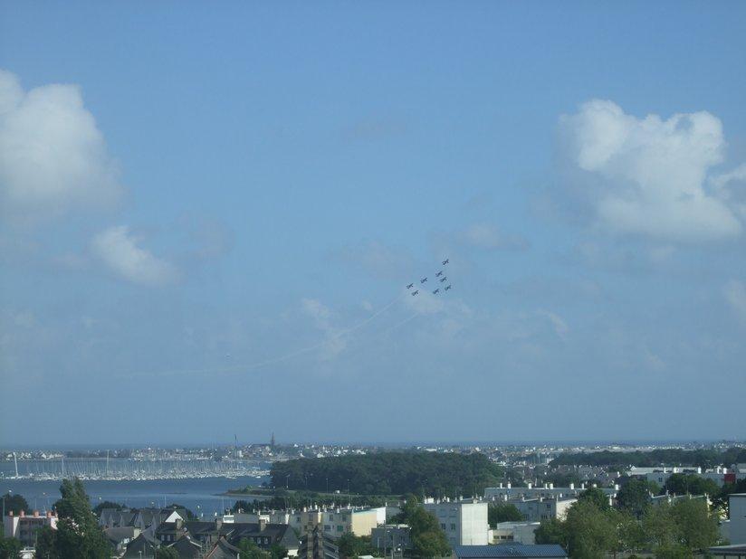 La Patrouille de France Lorient, 16 juin 2012