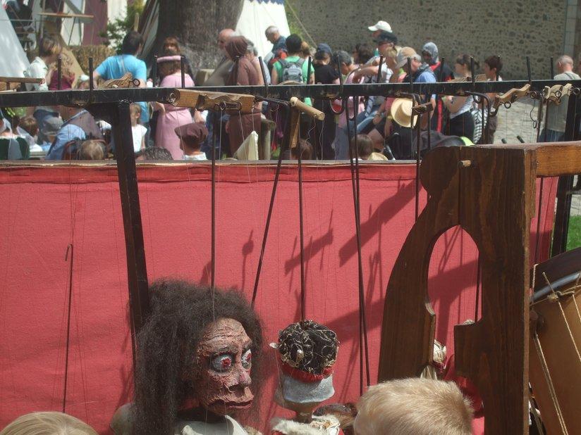 Marionnettes fête médiévale de Dinan