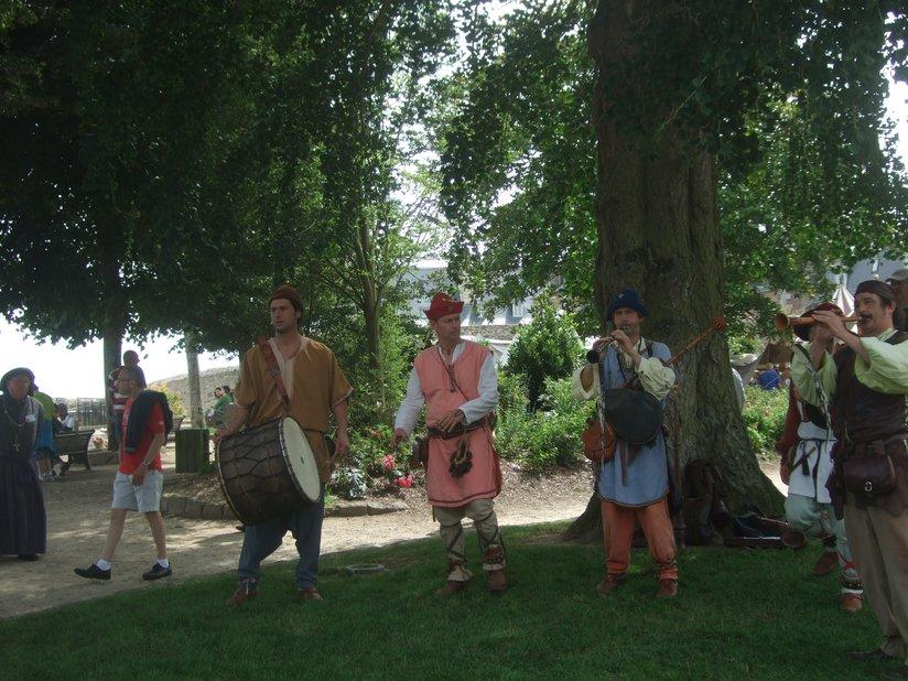 Musiciens fête médiévale de Dinan