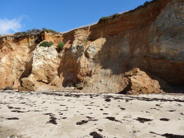 Falaises plage de la Mine d'Or, Pénestin