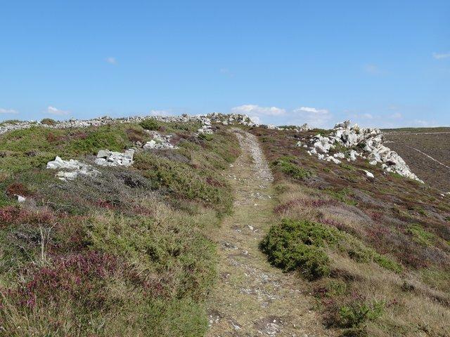 Sentier côtier Crozon, Finistère