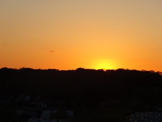 Coucher de soleil sur Ploemeur (56)