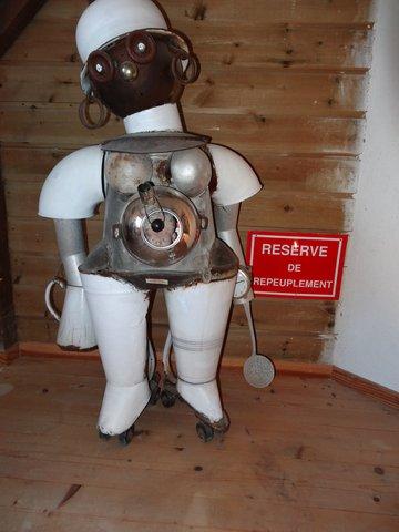 Robot de réserve de repeuplement du Poète Ferrailleur