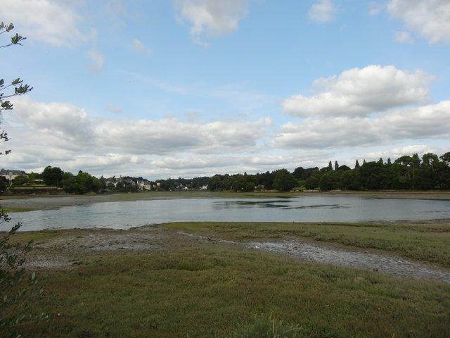 Petit étang marin, Port-la-Forêt