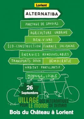 Le village Alternatiba 2015 de Lorient